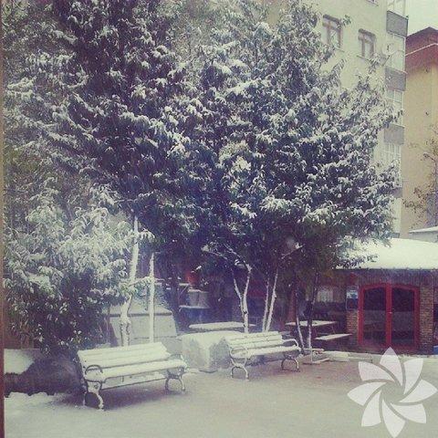 Instagram'dan kar manzaraları