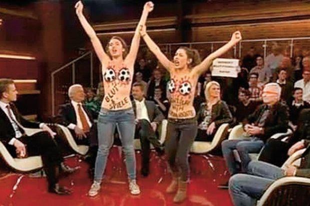 FEMEN yayın bastı