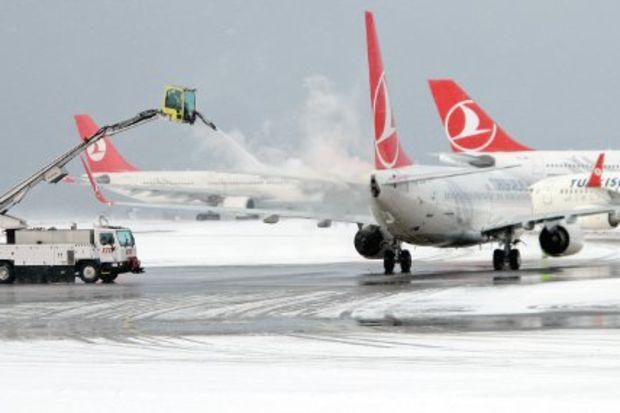 Karla uçmayı öğrenin