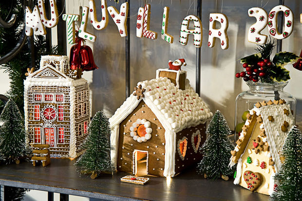 Martha Stewart'ın gingerbread'i