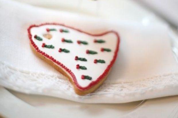 Beyaz kurabiye