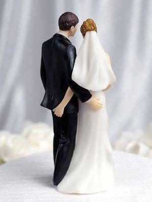 Garip düğün pastaları