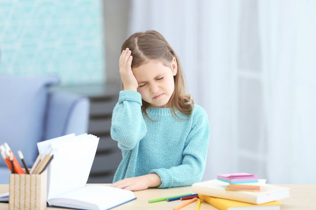 Çocuklarda baş ağrısına dikkat!