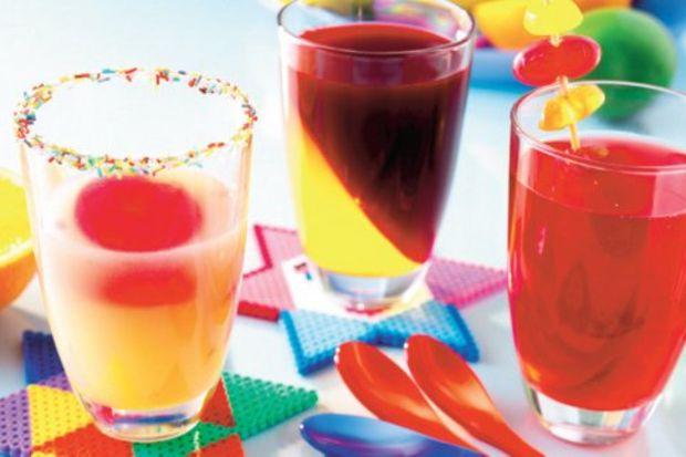 Rengârenk meyve suları
