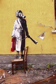 Duvar resimlerinde mesaj var!