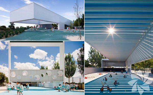 Boadilla de Monte isimli park, İspanya'da yer alıyor. Tasarımı Eduardo Navadijos ve Csaba Tarsoly tarafından yapılmış.