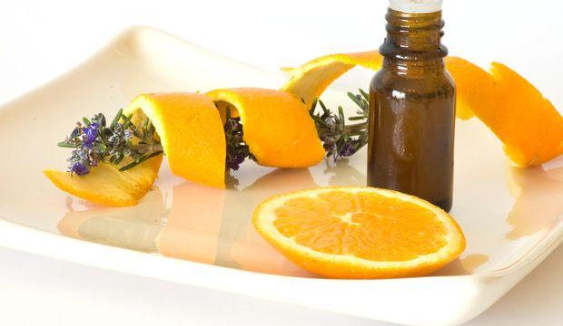Portakallı lavantalı masaj yağı
