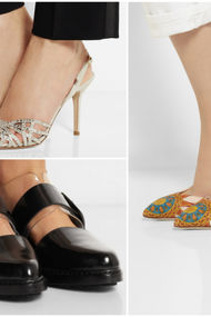 Dekolteli ayakkabılar...