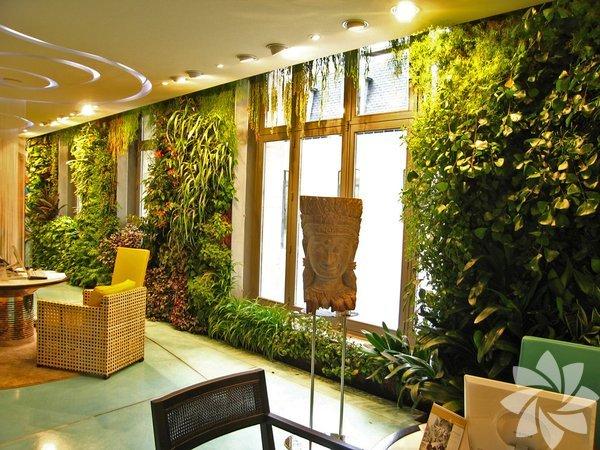 Duvarlar bahçe olursa...