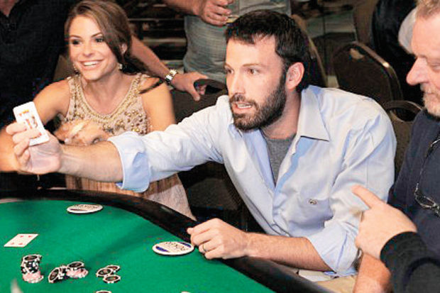 Ben Affleck'e blackjack yasağı