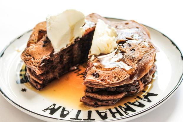 İpek'in Mutfağı'ndan Çikolatalı Pankek