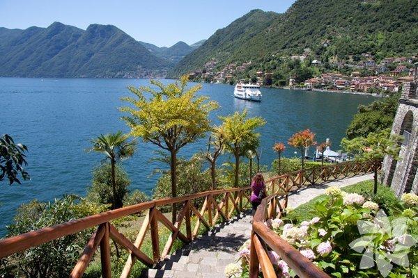 Doğa harikası Como gölü