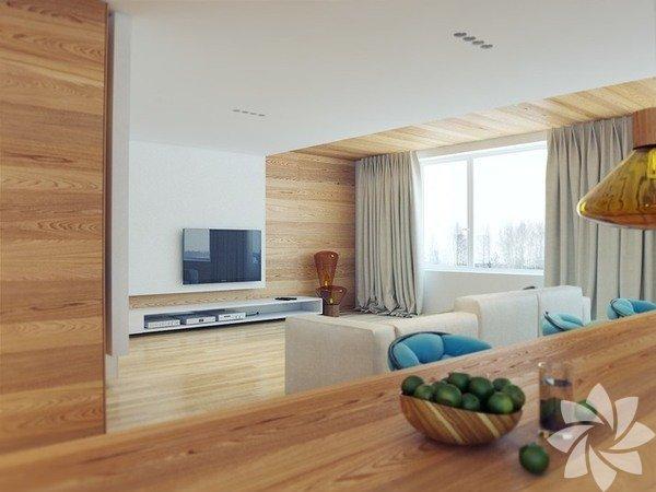 Modern bir apartman dairesi nasıl olur?