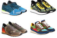 Rengarenk spor ayakkabılar...