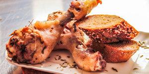 Fırında tarhunlu tavuk