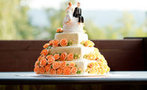 Yaz düğünü pastaları