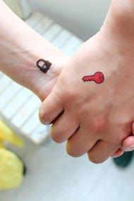 Çiftler için dövme alternatifleri