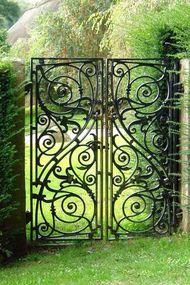 En güzel bahçe kapıları...