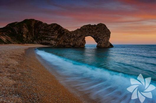 Dünya kültür mirası Jurassic Coast Path...