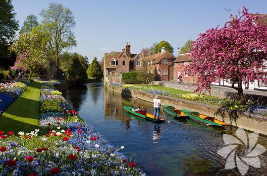 Bir Ortaçağ şehri: Canterbury