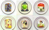Tost ekmekleriyle kahvaltı sanatı...