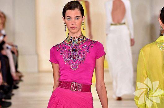 Ralph Lauren 2015 İlkbahar - Yaz koleksiyonu