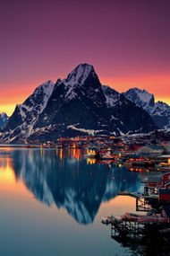 Doğa harikası Norveç...
