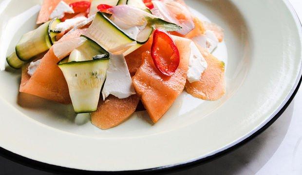 Kavun salatası