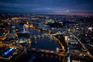 Londra'da hava kararınca...