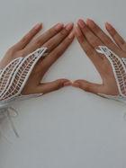Dantel eldiven modası...