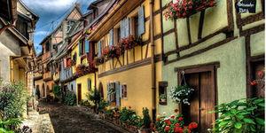 Riquewihr dünyanın en güzel köylerinden biri