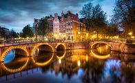 Değirmenleri ile ünlü şehir: Amsterdam...