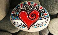 Taşlarla sanat...