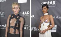 Cömert güzeller Rihanna ve Miley