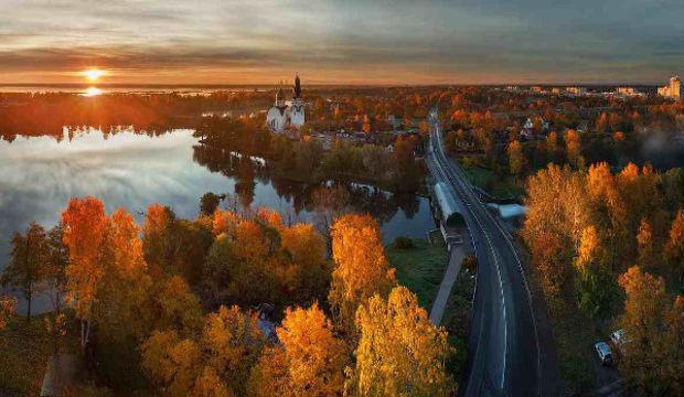 Dünyanın en sakin kenti St. Petersburg...
