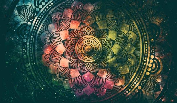 Mandalaların büyülü dünyasına yolculuk