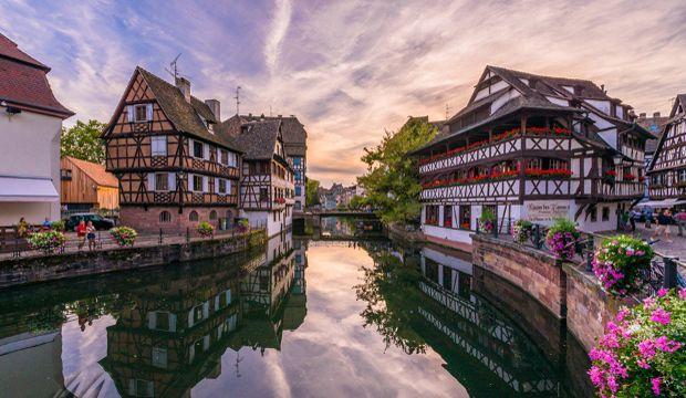 Avrupa'nın başkenti Strazburg...