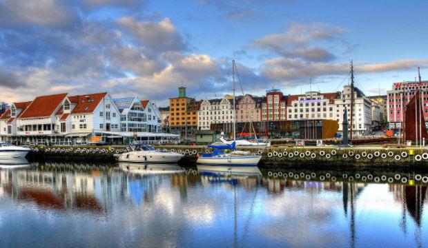 Dünyanın en pahalı şehirlerinden Oslo...
