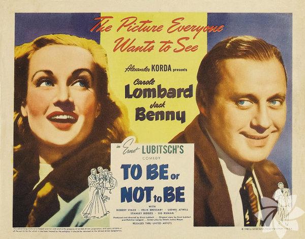 Olmak ya da Olmamak 1942  (To Be or not to Be) Yönetmen: Ernst Lubitsch Adını tiyatro tarihinin en ünlü tiradından alan film, Nazi işgali sırasında Polonya'da direniş hareketine sızmak isteyen Alman casusuna karşı harekete geçen bir tiyatro grubunun öyküsünü anlatıyor. İşgal öncesinde eşi Maria Tura (Carole Lombard) ile Hitler karşıtı oyunlar sahneleyen Joseph (Jack Benny) Nazi kılığına girmek zorunda kalıyor. Sinema tarihinin savaş temalı en iyi komedilerinden biri. 1983'te yenisi çekildi ama ilki hâlâ bir klasik.