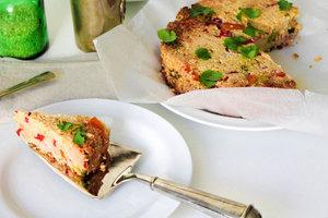 Fırında sebzeli & tavuklu pirinç - İpek Bozkurt'tan fırında sebzeli & ta...