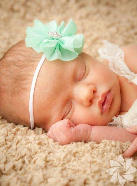 Kız bebek saç bantları