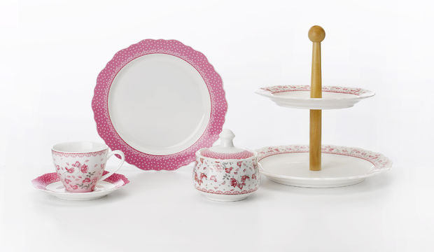 Pıtırcık çay saati takımı