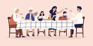 Ailece sofraya oturmak için 7 sebep