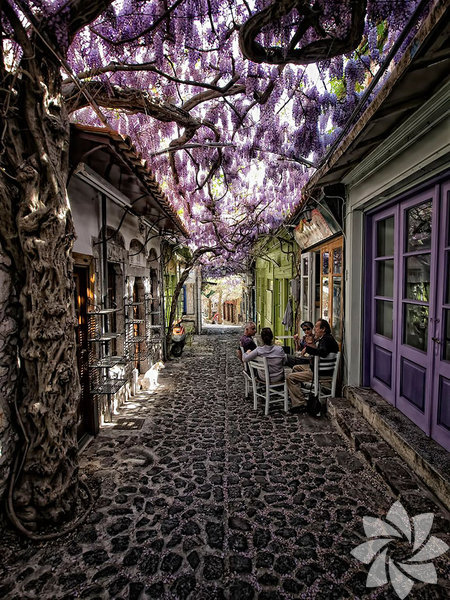 Molyvos, Lesvos, Yunanistan