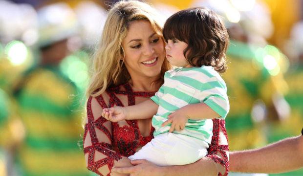Shakira'nın ikinci bebeği Sasha'nın ilk fotoğrafı