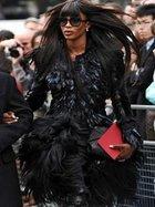 Naomi Campbell sokak stili...