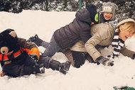 Ünlülerin İnstagram'da kar keyfi