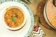 Nohutlu mercimek çorbası