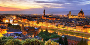 Floransa'da gün batımı...