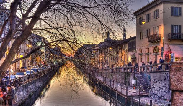 Avrupa'nın en zengin şehri Milano...